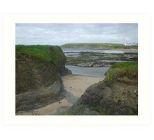 Bundoran Strand, County Donegal Art Print