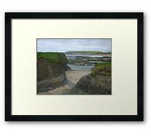 Bundoran Strand, County Donegal Framed Print