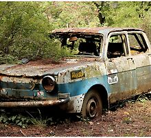 Abandoned Race Car by SrGio