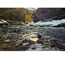 The Water at McConnell's Mill (Mid November 2014) Photographic Print