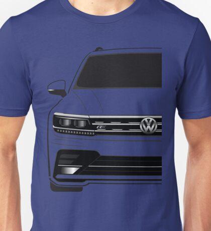 VW Tiguan R Line Half Cut Unisex T-Shirt