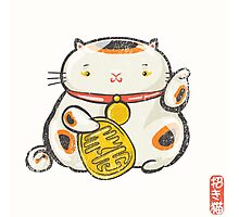 ManekiNeko [Special Lucky Toy Box] Photographic Print