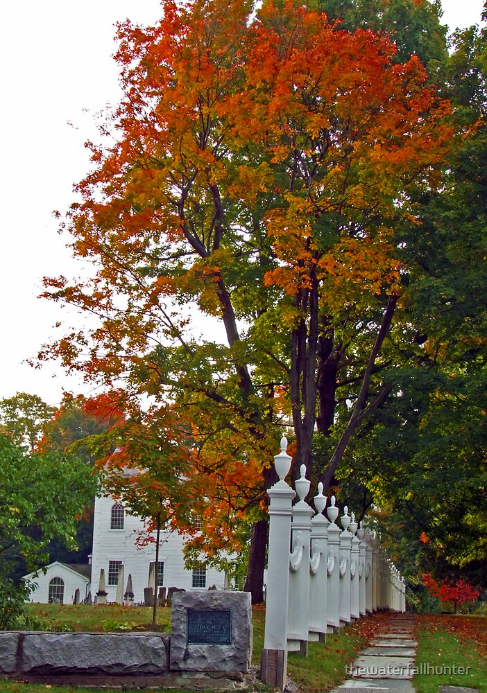 Old 1st Church Bennington Vermont by thewaterfallhunter