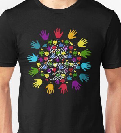 World Autism Awareness 2 April 2017 Unisex T-Shirt