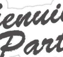 all Genuine Parts Sticker