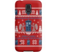 Who-liday Sweater Samsung Galaxy Case/Skin