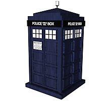 Tardis - Doctor Who Photographic Print