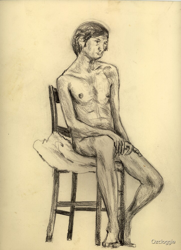 Life Drawing, (1970?)  by Ozcloggie