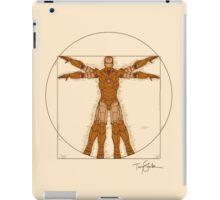 Vitruvian Iron! iPad Case/Skin