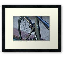 For the love of a bike  Framed Print