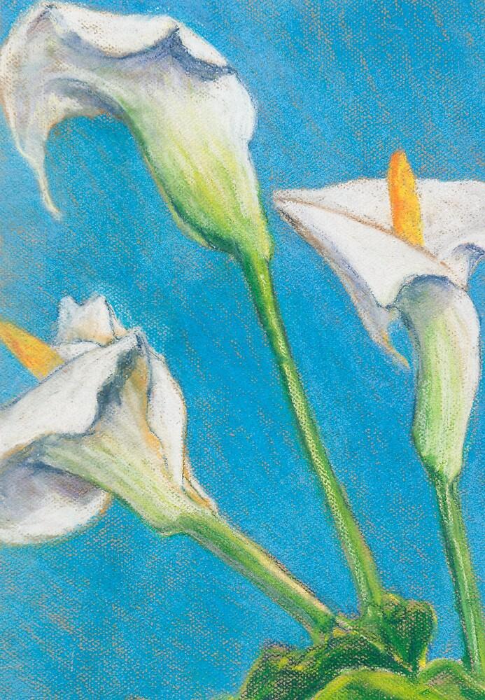 Three Lilies by bluerabbit