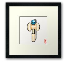 Kendama [Special Lucky Toy Box] Framed Print