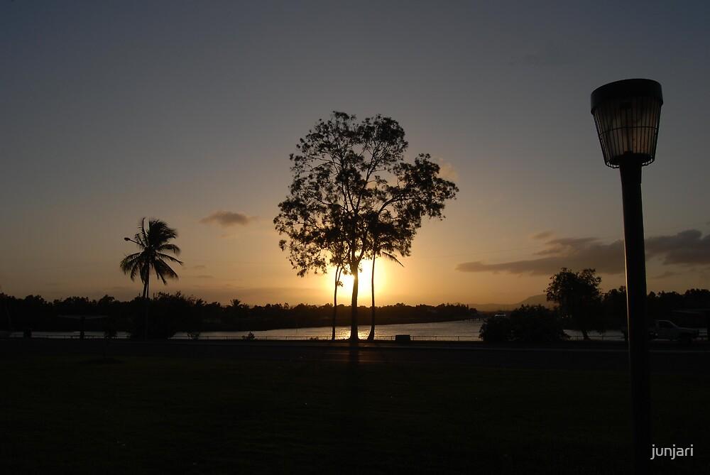 Sunset over the Marina by junjari