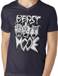 BEAST MODE!!! Mens V-Neck T-Shirt