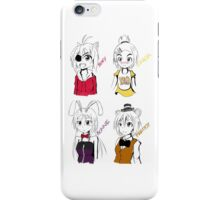 Five Nights at Freddy's Manga Girls iPhone Case/Skin
