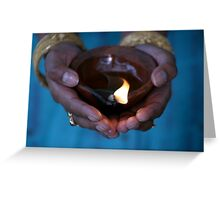 Diya Greeting Card
