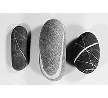 Stones Photographic Print