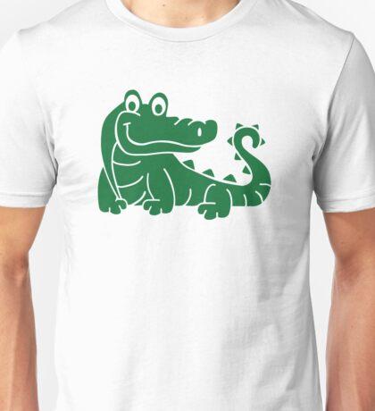 Green crocodile Unisex T-Shirt
