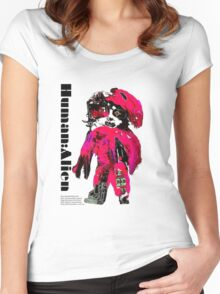 CHYNADOLL#0001 Women's Fitted Scoop T-Shirt