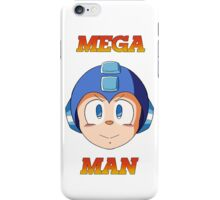 Mega Man Head iPhone Case/Skin