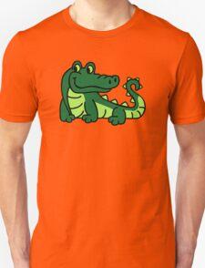 Comic crocodile Unisex T-Shirt