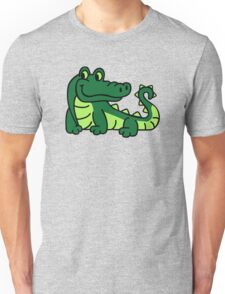 Comic crocodile Unisex T-Shirt