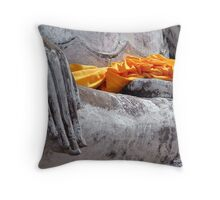 Buddha Hand Throw Pillow