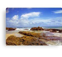 San Juan Rocky Beach, Puerto Rico Canvas Print