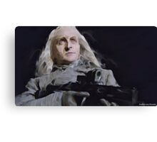 Datak with a Gun Canvas Print