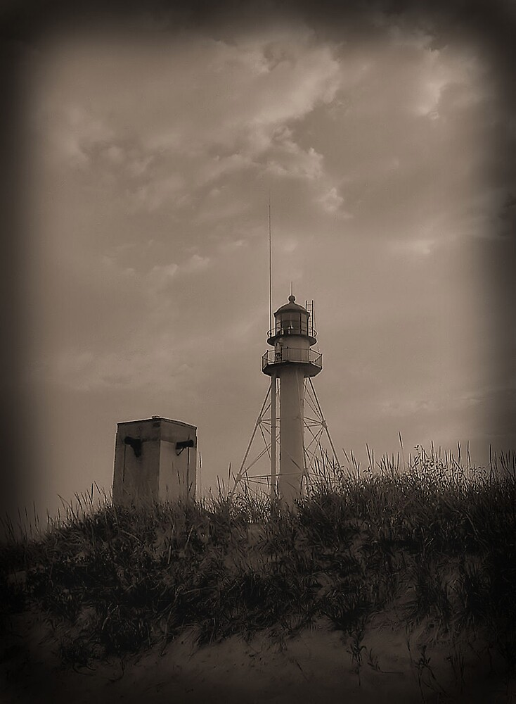 Whitefish Point Lighthouse by Erika Benoit