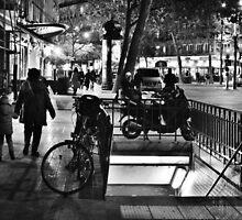 Paris, Republique Metro by Andrew Reid Wildman