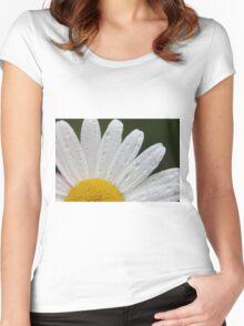 Gerbera Daisy Women's Fitted Scoop T-Shirt