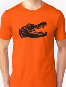 Crocodile head Unisex T-Shirt