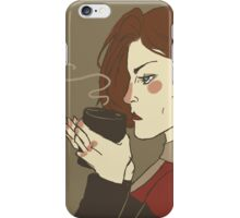 Coffee black iPhone Case/Skin