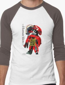 CHYNADOLL#0002 Men's Baseball ¾ T-Shirt