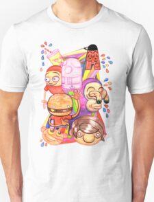 Bad Teeth Cartoon Party T-Shirt