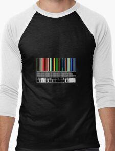 BARCODE COLOUR Men's Baseball ¾ T-Shirt