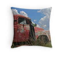 The Last Delivery Throw Pillow