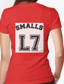 """The Sandlot"" Smalls L7 Womens Fitted T-Shirt"