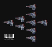 CHIP GUN FLEET (Destroy All Data) by humanalien