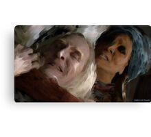 Datak VS. The Spirit Rider Canvas Print