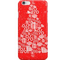 Christmas tree discount iPhone Case/Skin