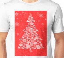 Christmas tree discount Unisex T-Shirt