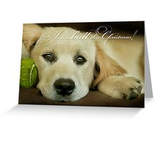 Have a ball this Christmas....CHRISTMAS CARD!! Greeting Card