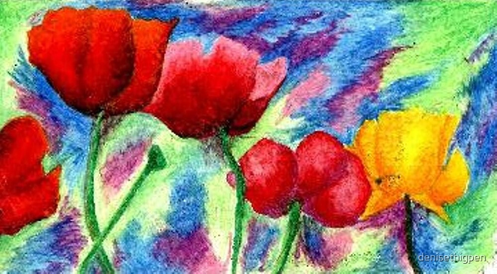 Poppies  by denisethigpen