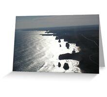 Ocean Coast Greeting Card