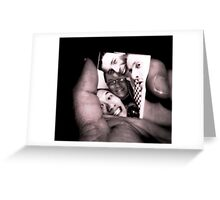 Boys on Film Greeting Card