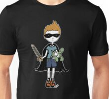 Boy with sword (for black) Unisex T-Shirt