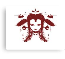 Warchild - Red Canvas Print