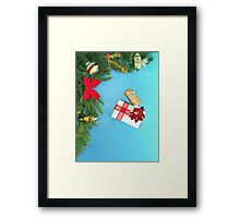 Holidays gifts Framed Print